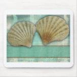 Fertigen Sie Ihren eigenen Seashellentwurf besonde Mousepads