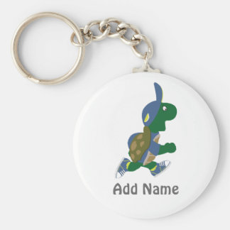 Fertigen Sie laufende Schildkröte besonders an Schlüsselanhänger