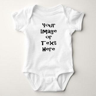 Fertigen Sie mit personalisierten Bildern und Text Babybody
