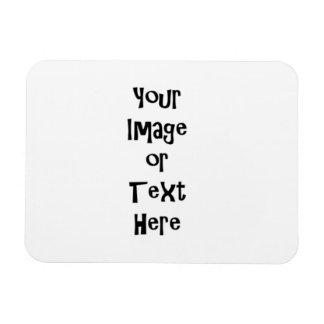 Fertigen Sie mit personalisierten Bildern und Text Magnet