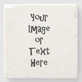 Fertigen Sie mit personalisierten Bildern und Text Steinuntersetzer