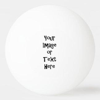Fertigen Sie mit personalisierten Bildern und Text Tischtennis Ball