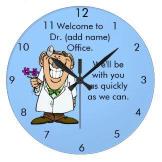 Fertigen Sie Office Clock Text-Dr. besonders an Uhren