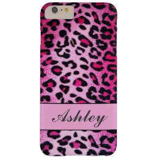 Fertigen Sie rosa Gepard besonders an Barely There iPhone 6 Plus Hülle