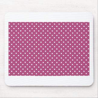 Fertigen Sie rosa Tupfen besonders an Mauspads