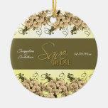 FERTIGEN Sie Save the Date besonders an Ornamente