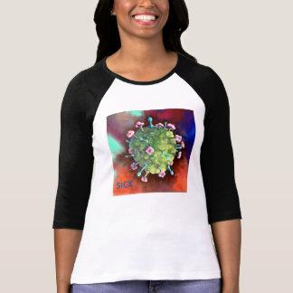 Fesselnde Virus-T - Shirts für Frauen Nipah