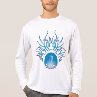 Fesselnder Leute-Schädel T-Shirt