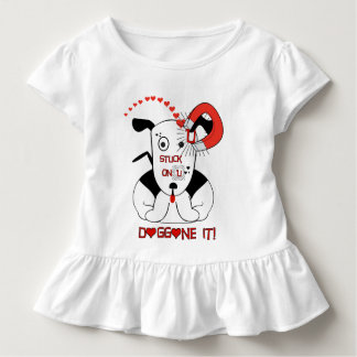Fest auf U verdammt es! Kleinkind T-shirt