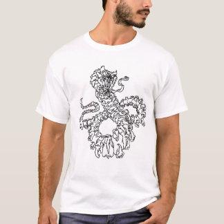 Fest gefügte Schlange T-Shirt