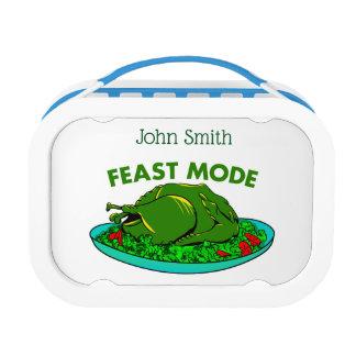 Fest-Modus-lustiger Erntedank Brotdose