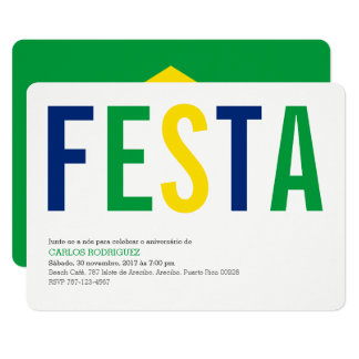 Festa Brasilien Karte