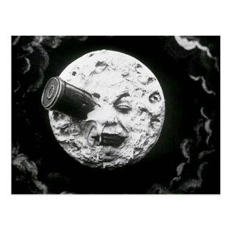 "Festbild - ""La Le Voyage Dans Lune"" Postkarte"