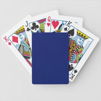 Feste Marine-Blau-Spielkarten