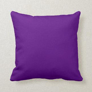 Feste Pflaumen-lila umschaltbarer Kissen
