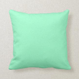 Feste tadellose grüne Farbe Kissen