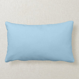 Festes Cornflower-Blau Kissen