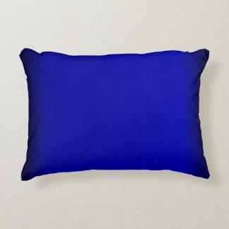 Festes Kobalt-Blau Zierkissen