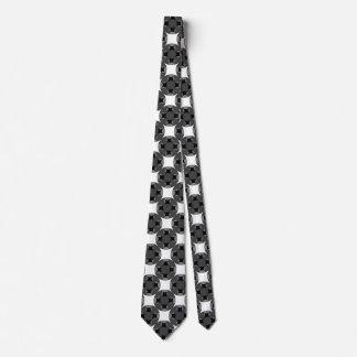 Festes Vier-Sternekreis-Kreuz Krawatte