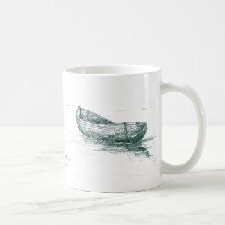 Festgemacht bei Penzance Kaffeetasse