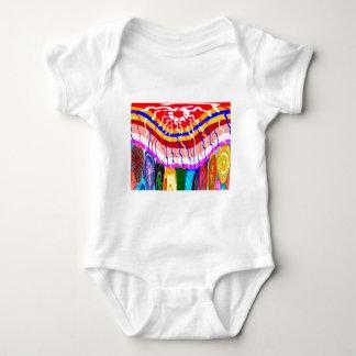 Festival dekorativer baby strampler