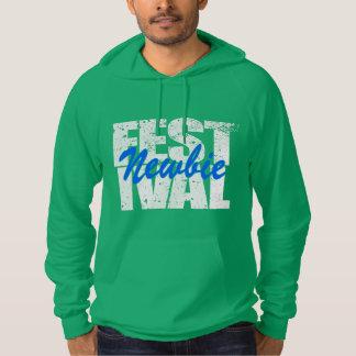 Festival-Neuer (weiß) Hoodie