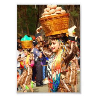 Festival Philippinen Panagbenga Fotodruck