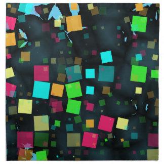 Festlich besprühen Sie vom Confetti-Chaos Serviette