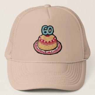 Festliche 60. Geburtstags-Geschenke Truckerkappe