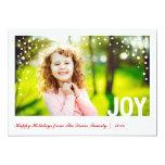 Festliche Freude-glückliche Feiertags-Foto-Karte Ankündigungen