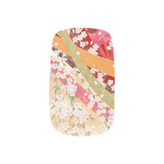 Festliche Kirschkirschblüte-Nagel-Kunst Minx Nagelkunst