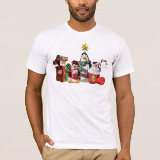 Festliche Pinguine T-Shirt