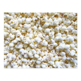 Festliche Popcorn-Dekor-Fotografie Postkarte