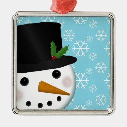 Festliche Schneemann-Feiertags-Verzierung Weihnachtsbaum Ornament