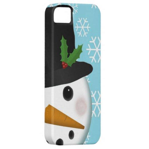 Festliche Snowman-Feiertags-Case-Mate für iPhone 5 iPhone 5 Hülle