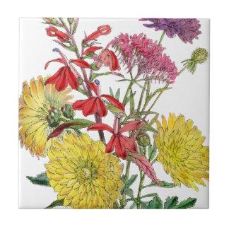 Festliche Sring Blumengeschenke Fliese