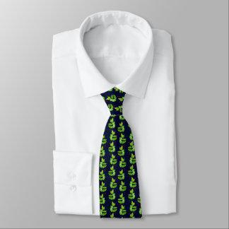 Festliche Weihnachtsstechpalmen-Krawatte Personalisierte Krawatte