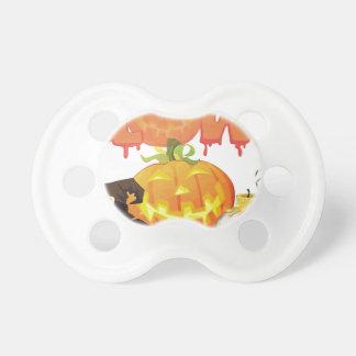 Festlicher Entwurf Halloweens Schnuller