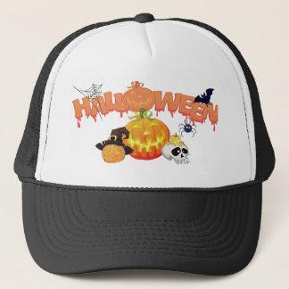 Festlicher Entwurf Halloweens Truckerkappe