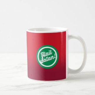 Festlicher Hagel Satan Kaffeetasse