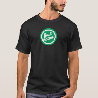 Festlicher Hagel Satan T-Shirt
