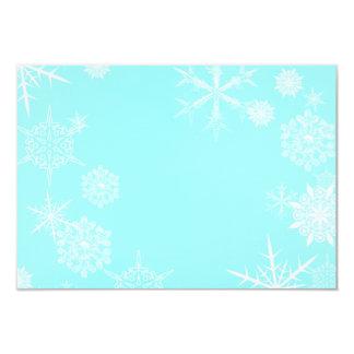 Festlicher Schneeflocke-Karten-Umschlag Karte