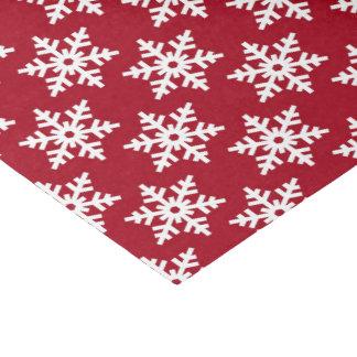 Festliches rotes weißes seidenpapier