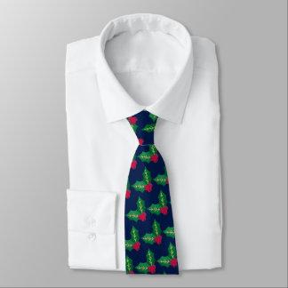 Festliches Weihnachtsroter grüner Personalisierte Krawatten