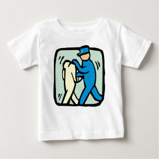 Festnahme Baby T-shirt