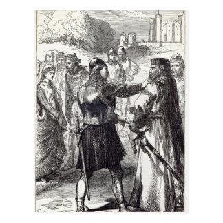 Festnahme des Herzogs von Gloucester Postkarte