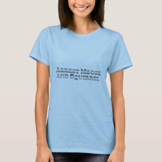 Festnahme-Elche und Eichhörnchen - grundlegend T-Shirt