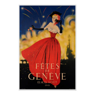 Fêtes de Genève Poster