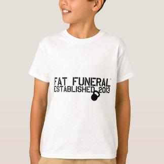 Fette Begräbnis- Vorlage T-Shirt