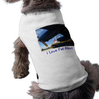 Fette blaue Engel Alberts Shirt